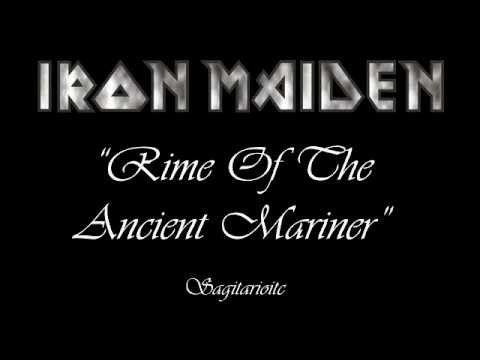 Iron Maiden Rime Of The Ancient Mariner Lyrics Love Coleridge