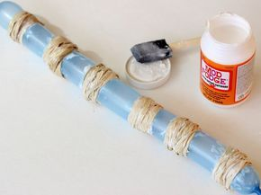 DIY Napkin Rings Using Dollar Store Supplies - Mod Podge Rocks