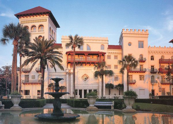 From America's Grand Hotels: Casa Monica in St. Augustine, Florida.