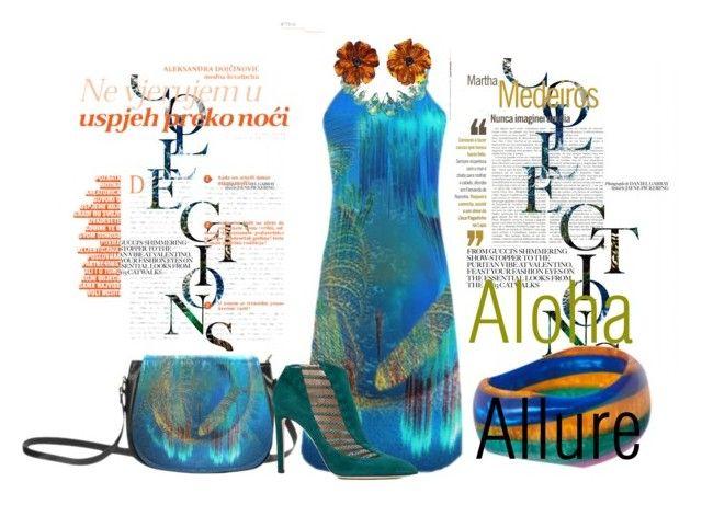 """Blue Coast"" by alohaallure ❤ liked on Polyvore featuring K. Amato, Chloe Gosselin, Valentin Magro and Martha Medeiros"