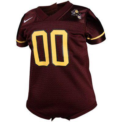 Nike Arizona State Sun Devils Infant Maroon Football Jersey Creeper ( 29.95) 45f6b1699