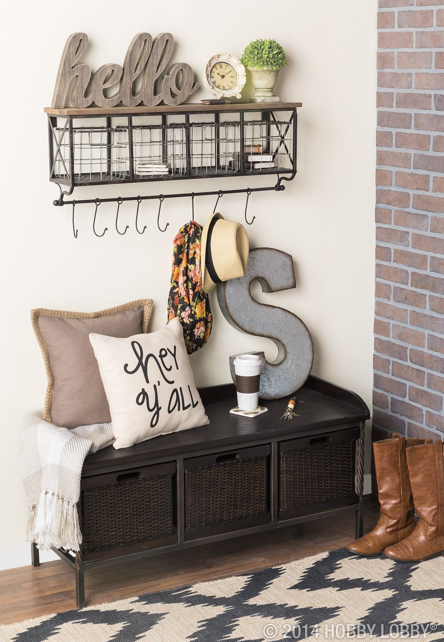 An Inviting Entryway Shop Hobby Lobby Home Decor F