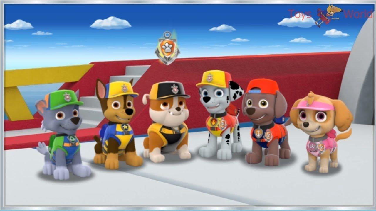 Paw Patrol Mission Paw Sea Patrol Team Rescue Paw Patrol Full Episodes Nickelodeon Jr Kids Game Patrulha Canina Patrulha Caninos