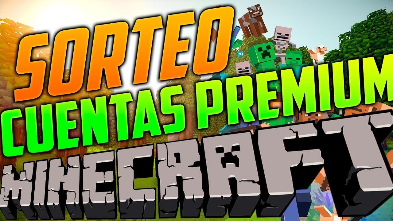 Sorteo De 5 000 Cuentas Premium De Minecraft Gratis Cada 5 Minutos Pc Minecraft Names Diy And Crafts