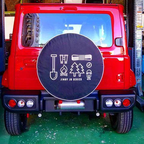 ジムニー スペア タイヤ カバー