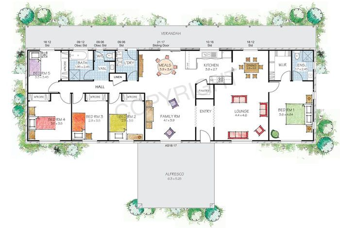 The Hargraves Mk2 Floor Plan Paal Kit Homes Offer Easy