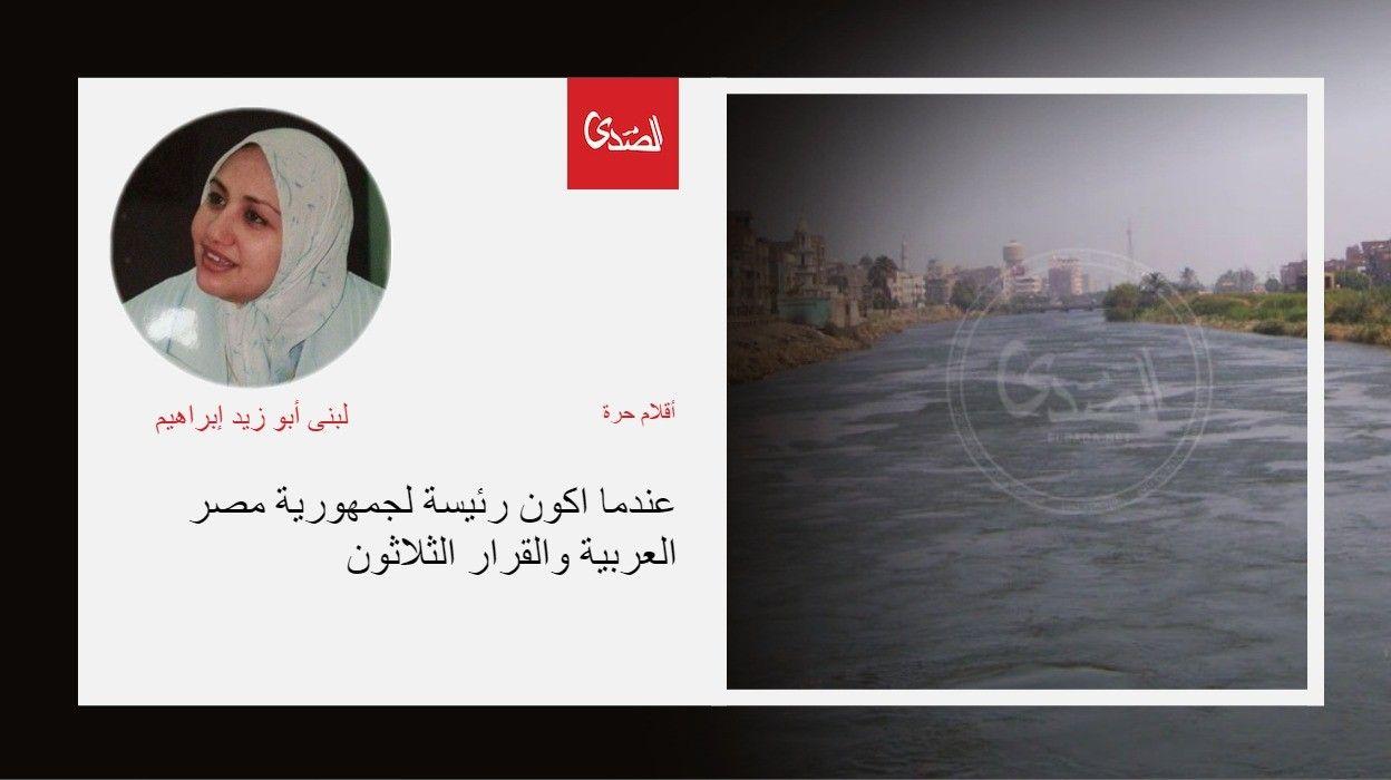 عندما اكون رئيسة لجمهورية مصر العربية والقرار الثلاثون الصدى نت Movie Posters Movies Poster
