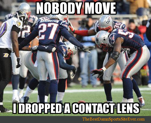 Funny Memes For Football : Awful moments in contact lens wearing football humor nfl memes