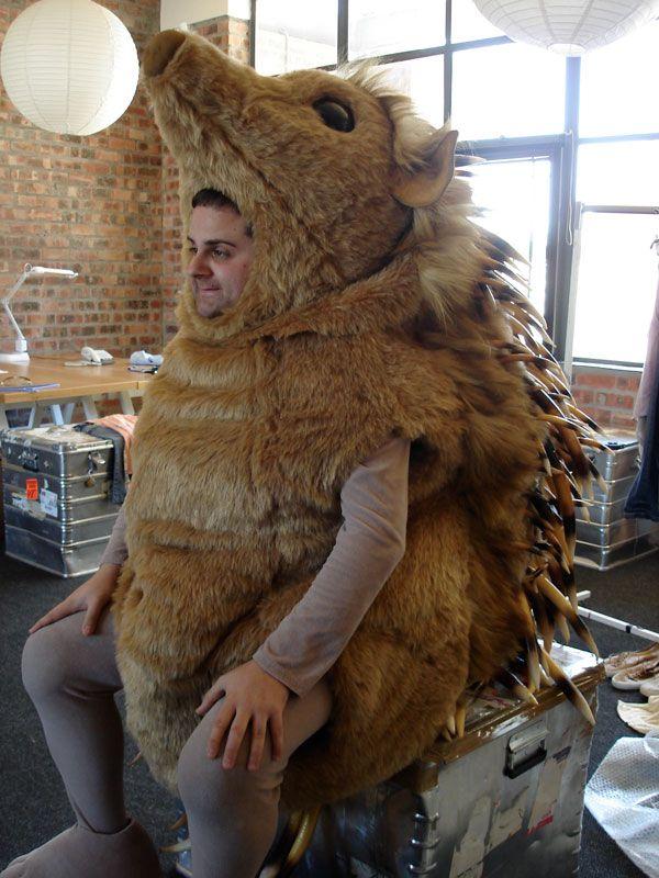 Как сделать костюм ежика фото 733