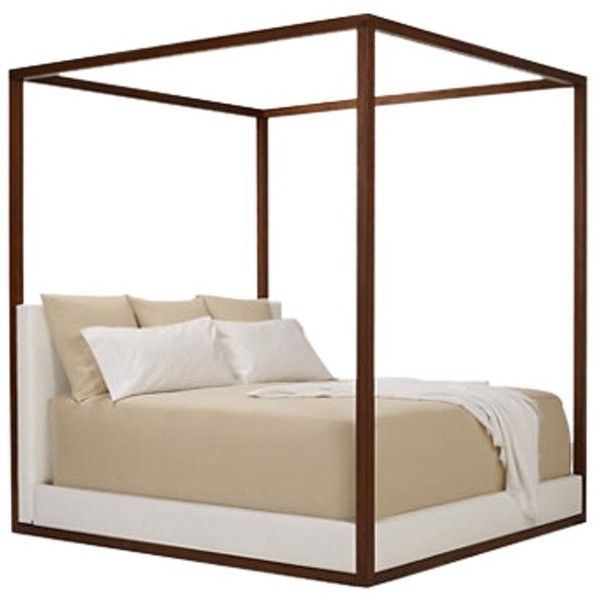 DESERT MODERN CANOPY BED ($11,375) ❤ liked on Polyvore featuring ...