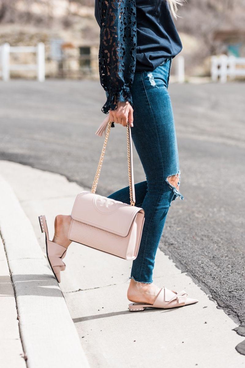 d901a83cf Blush X Navy in 2019   Style   Summer handbags, Fashion, Handbags