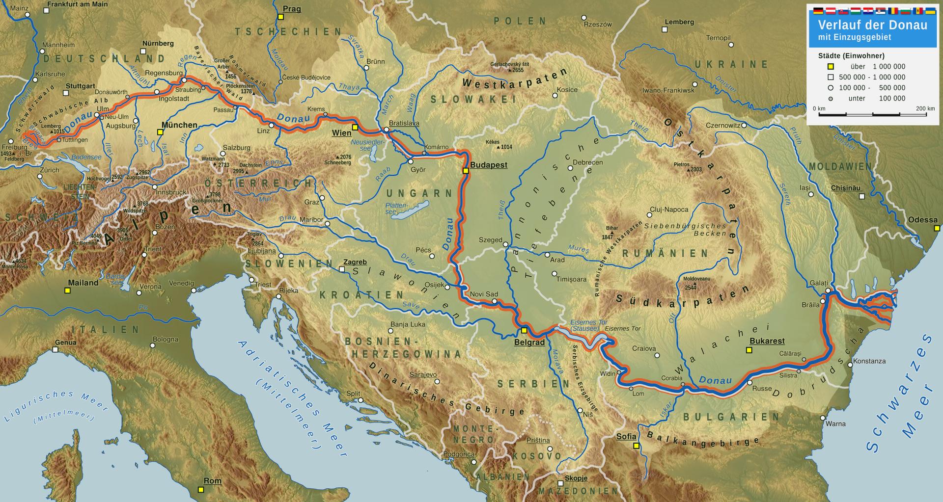 того, чтобы дунай на карте европы фото поражают они столько