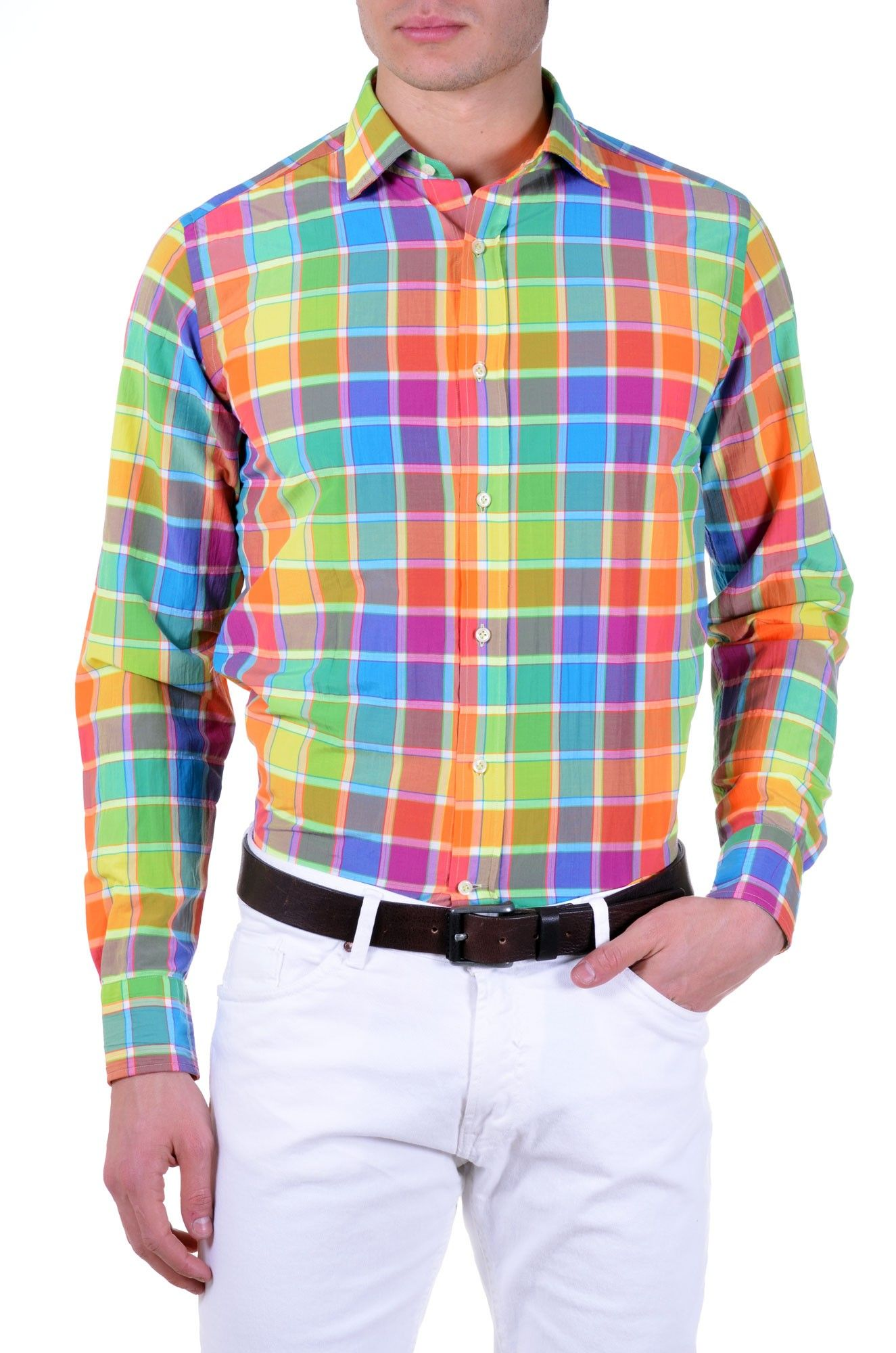 Fluorescent color Guy Rover Men's Shirt. http://www.kamiceria.com