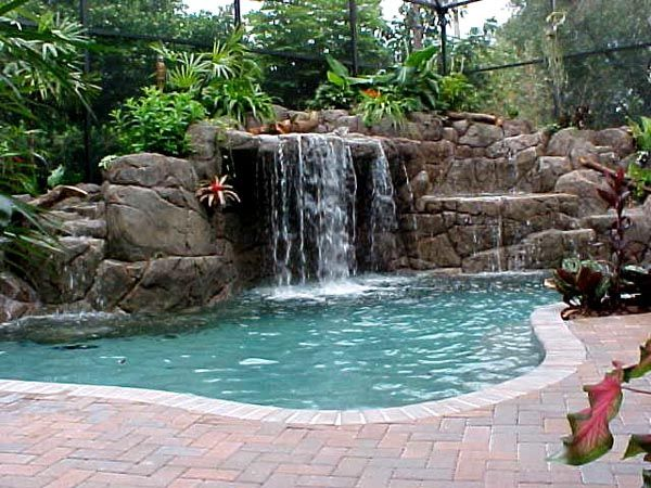 Cool Pools With Waterfalls In Houses pools | cool swimming pool pictures 2008-2012 - pool pictures