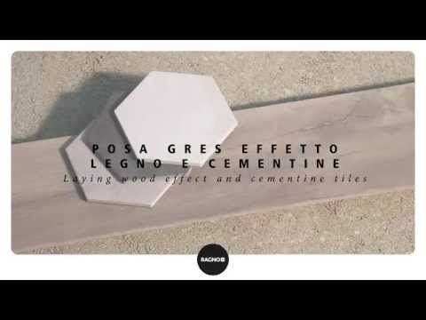 """Mix & Match. Gres effetto legno e cementine: la posa - Woodeffect tiles and """"cementine"""": the laying - YouTube"""