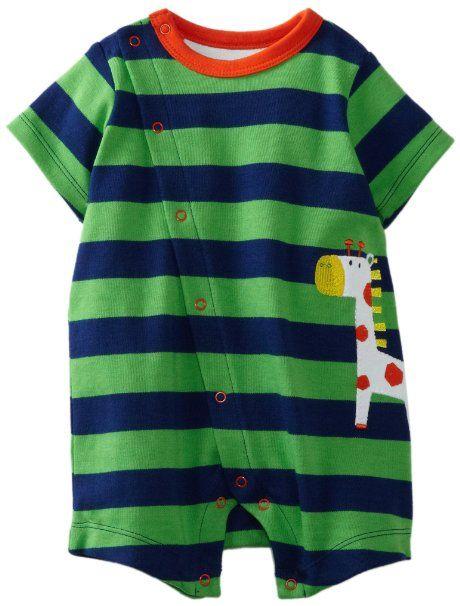 Amazon.com: Offspring - Baby Apparel -Boys Newborn Giraffe Romper: Clothing