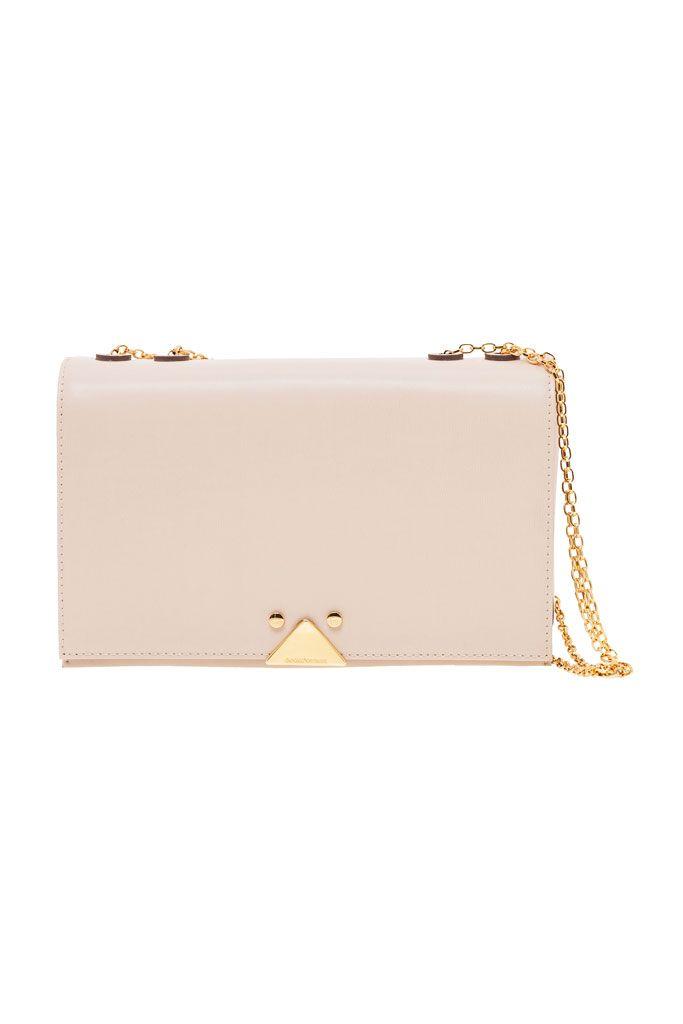 0b501a293f Emporio Armani nude and gold clutch | Bag Lady | Gold clutch, Luxury ...