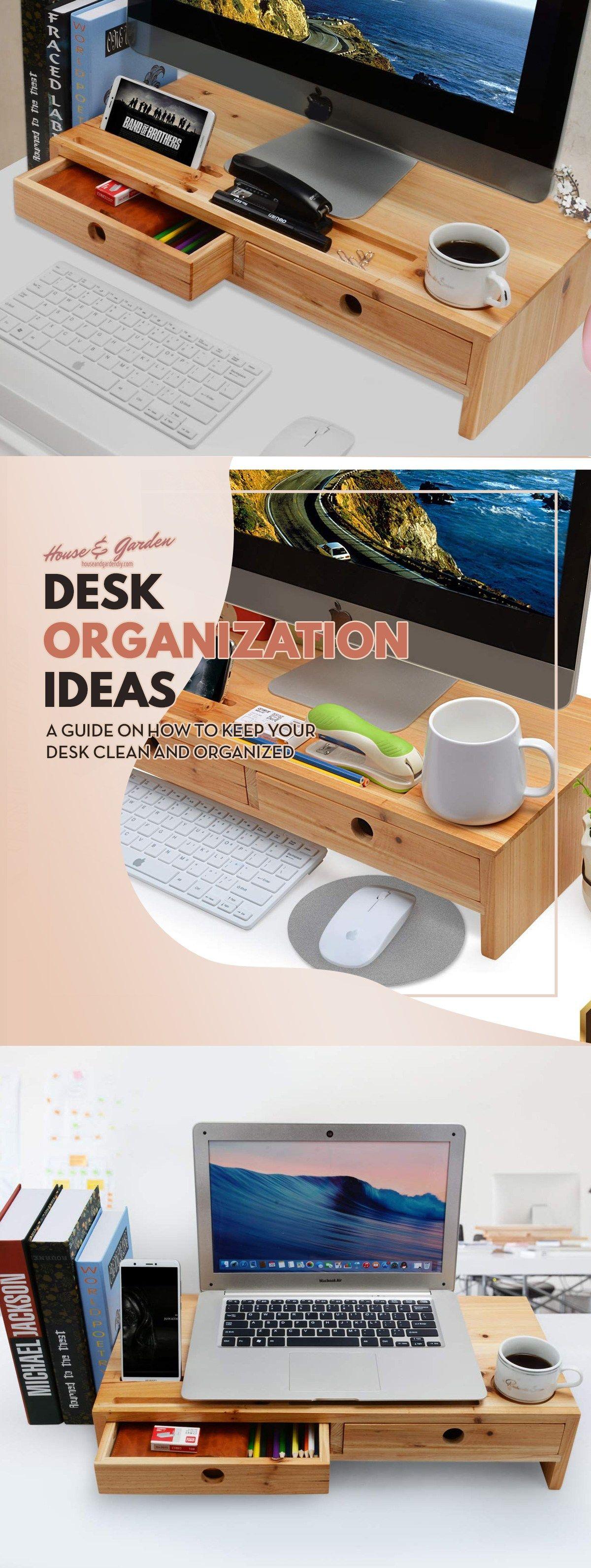 Ideen für die Organisation von mehr als 15 Arbeitsplätzen (Tipps für die Organisation von Arbeitsplätzen Halten Sie Ihren Schreibtisch sauber) - Haus und Garten D