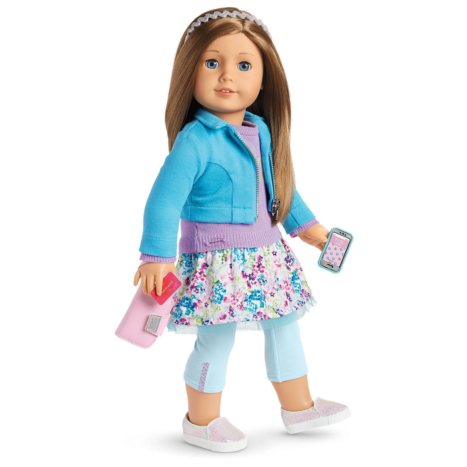 American Girl TRULY ME doll just like you long brown hair /& eyes light skin #59
