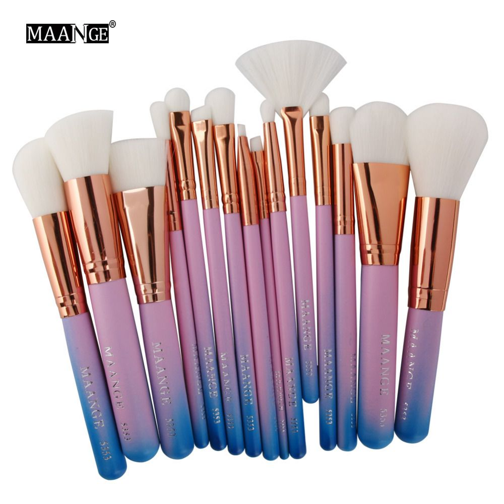 Cheap Cosmetic Tools Buy Quality Makeup Brush Set Directly From China Brush Set Suppliers 15 Pcs W Makeup Brush Set Mermaid Makeup Brushes Eye Makeup Brushes