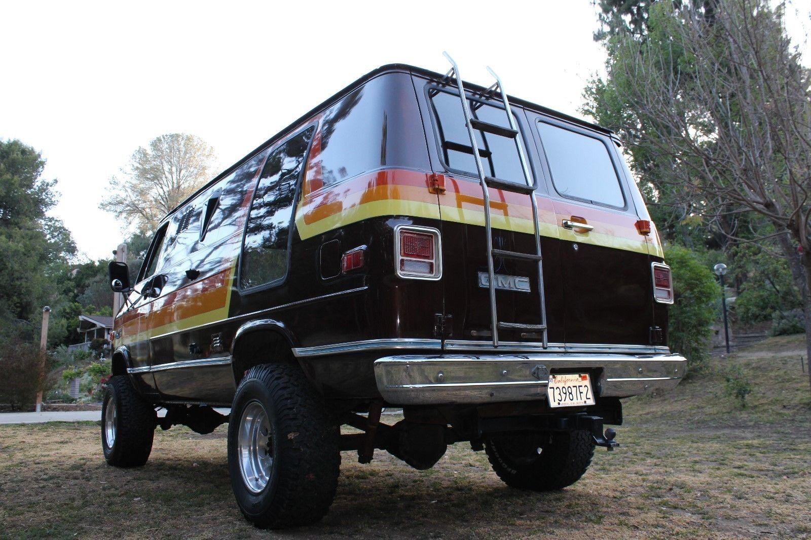 1978 Gmc Vandura G35 Ebay Custom Vans Chevy Van Customised Vans