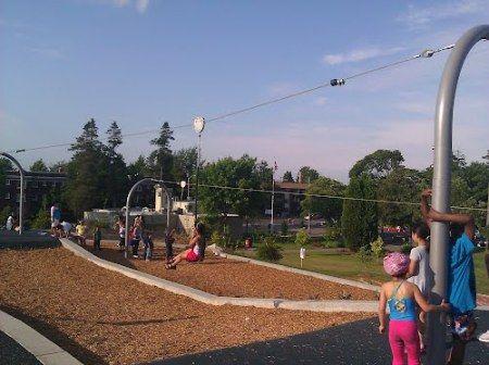 Take Flight 9 Seattle Parks With Kid Approved Zip Lines Ziplining Zipline Park Park Playground
