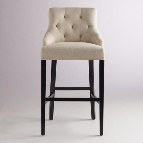 One Of My Favorite Discoveries At Worldmarket Linen Lydia Barstool For Mom S Command Central