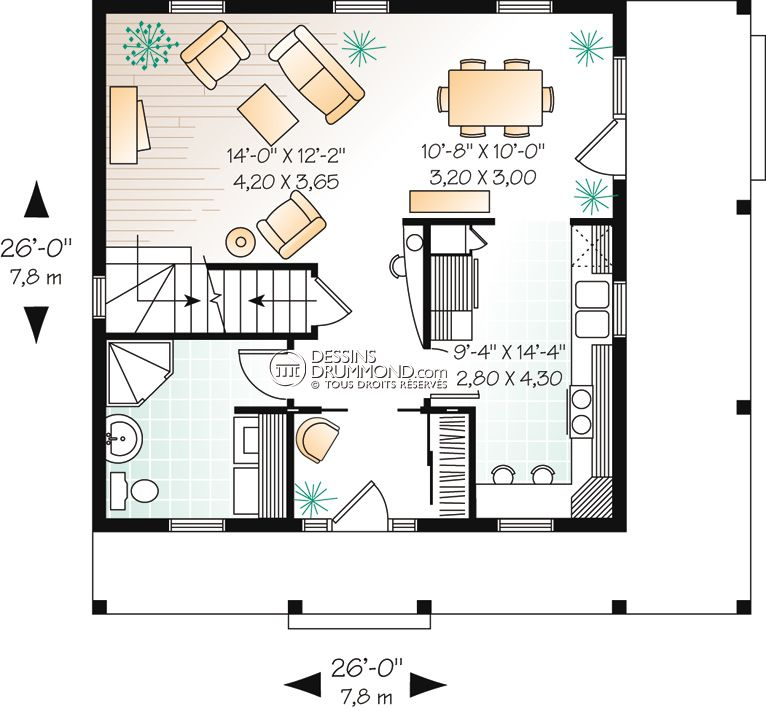 Country Style Homes, Manors \ Small Castles W2733 Maison Laprise - dessiner plan de maison