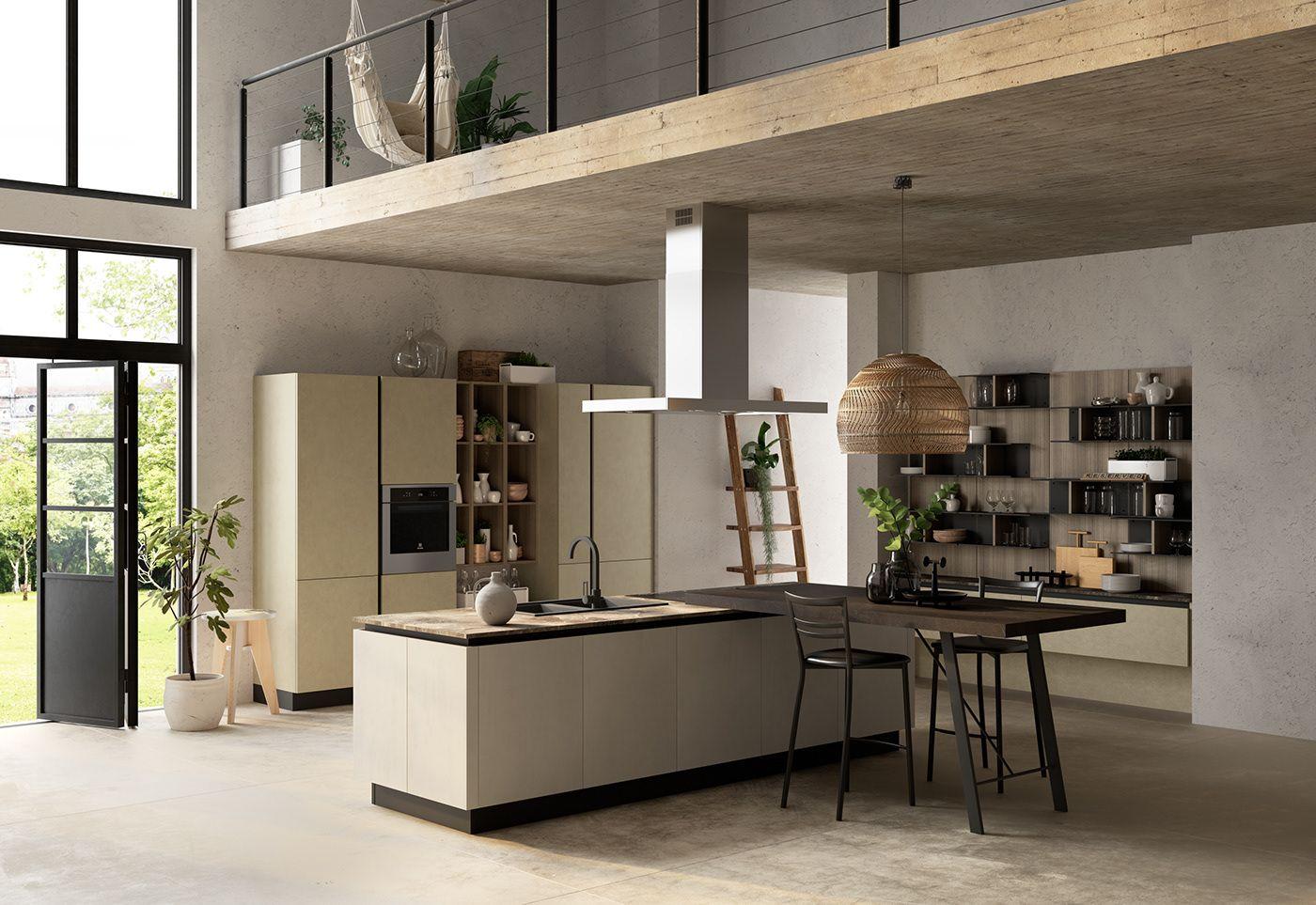 Colombini Artec Lungomare Kitchen on Behance | Kitchen ...