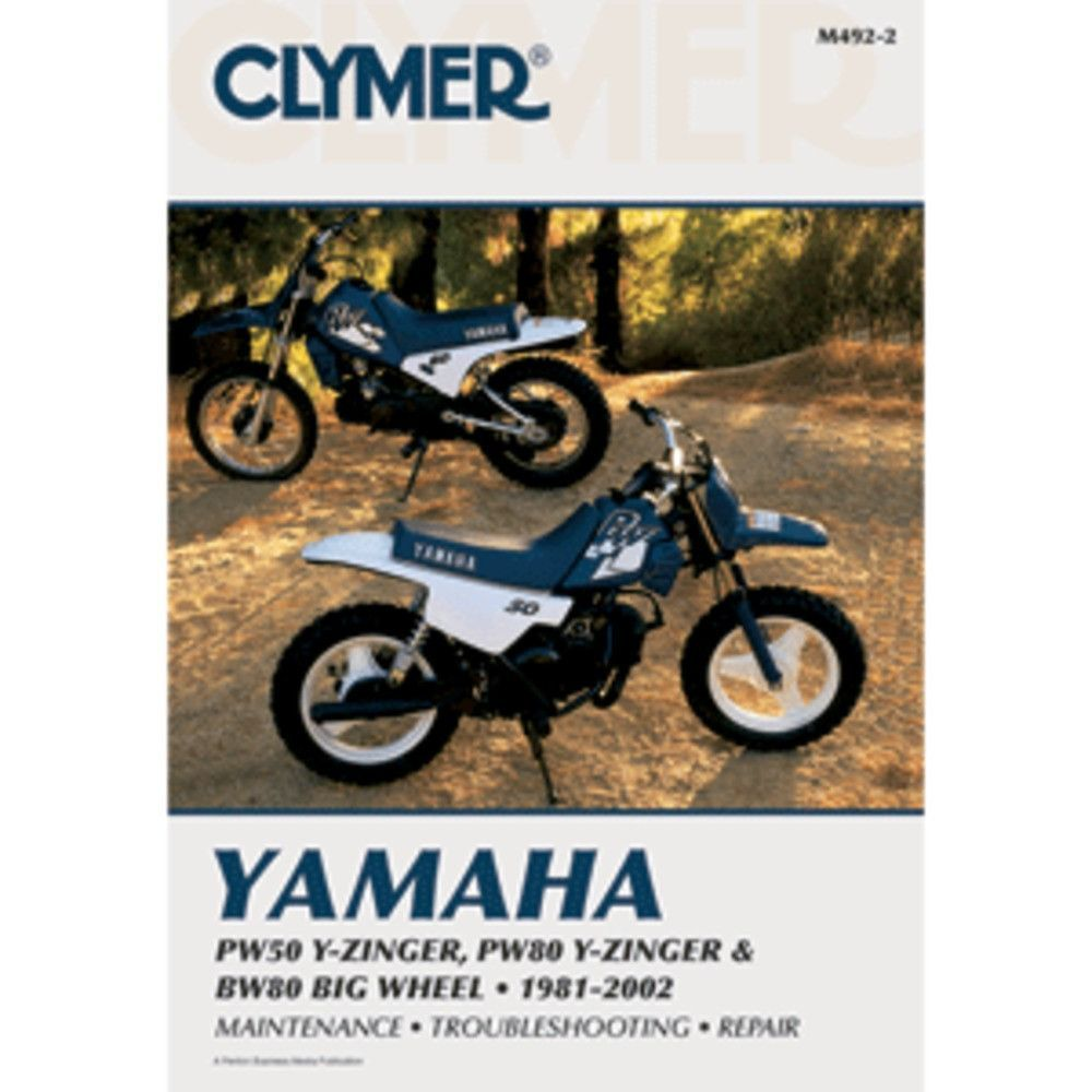 Yamaha PW50 and PW80 Y-Zinger and BW80 Big Wheel 1981-2002Clymer motorcycle  repair manuals are written specifically for the do-it-yourself enthusiast.