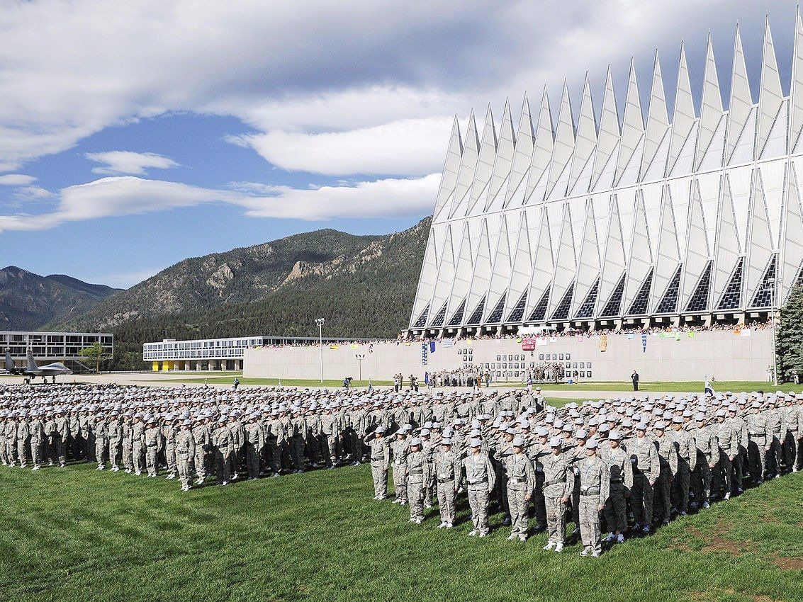 The hardest college to get into in every state Air force