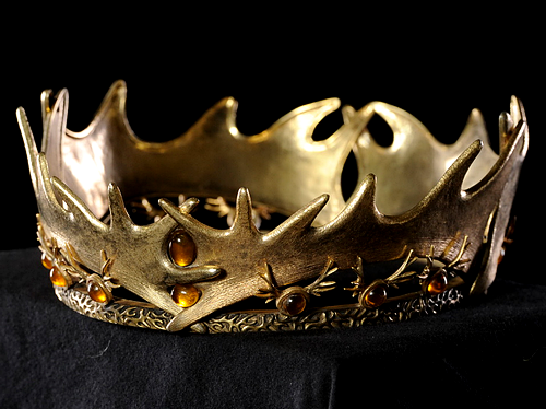 Everything Asoiaf Game Of Thrones Jewelry Baratheon Crown Metal Hair Accessories