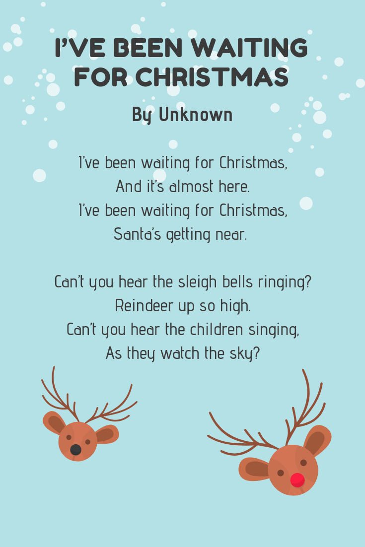 24 Christmas Poems for Kids: Funny & Festive Poems 🎄 | Imagine Forest
