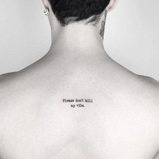 100 Back Of The Neck Tattoos That Are Easy To Hide And Fun To