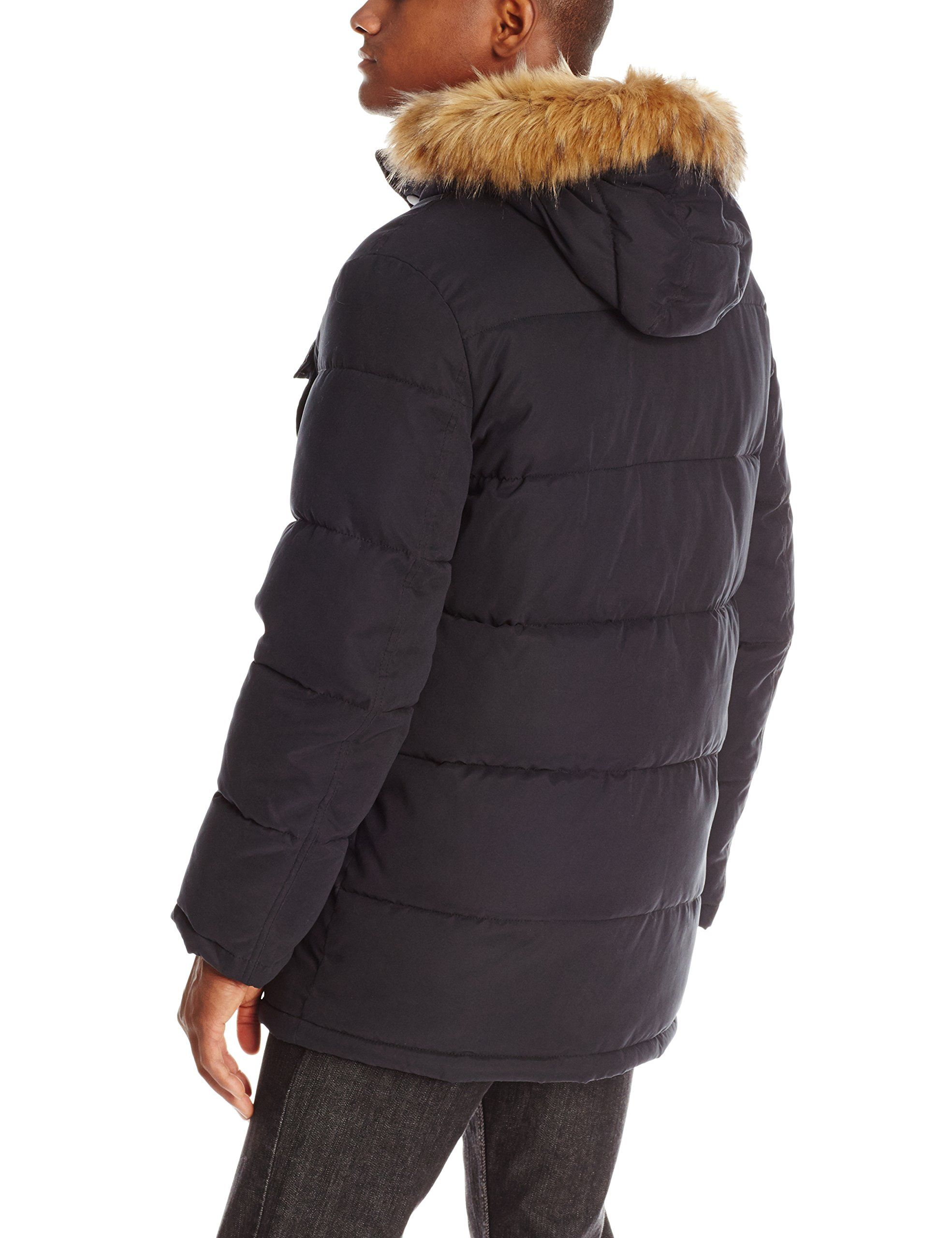 77c50e0dae0 Tommy Hilfiger Mens Micro Twill FullLength Hooded Parka Coat Black Small **  Find out more about the great product at the image link.