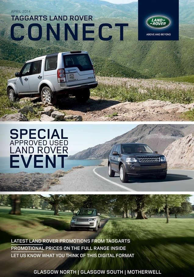 Taggarts Land Rover CONNECT //cloud.idealershipmag.com/go ...