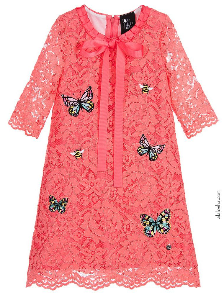 ALALOSHA: VOGUE ENFANTS: Must Have of the Day: Beautiful floral embroidery appliqué and touches of sparkle by Love Made Love