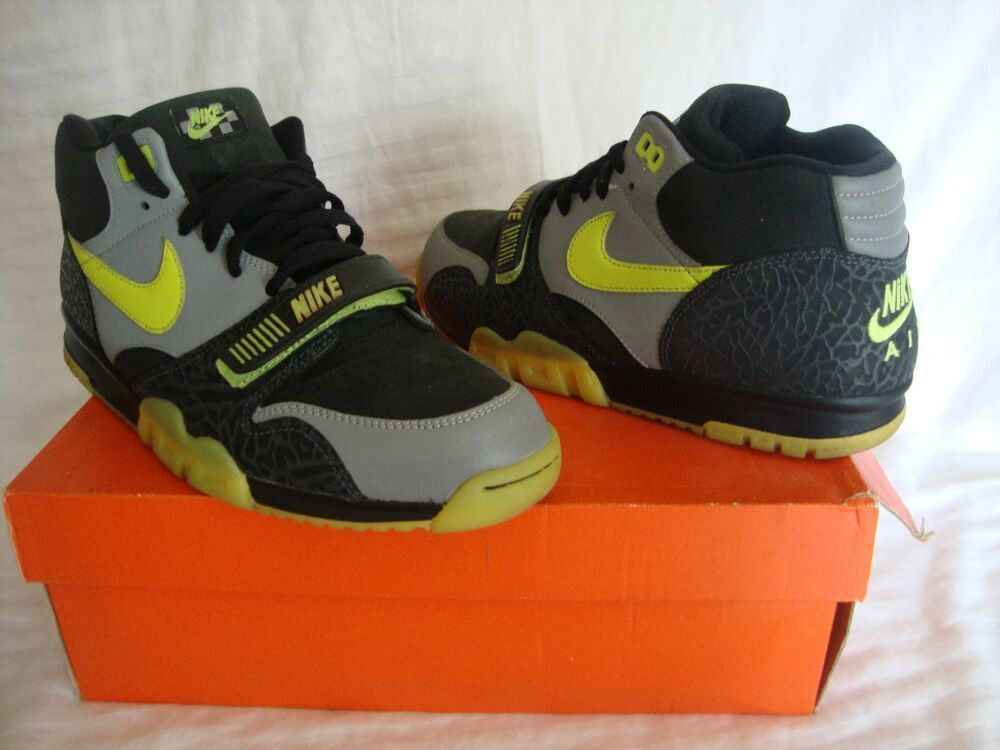 a7f8df73cbaf25 eBay  Sponsored Nike 329424 Air Trainer 1 Premium Size 10.5 Clark Kent 112  Pack W