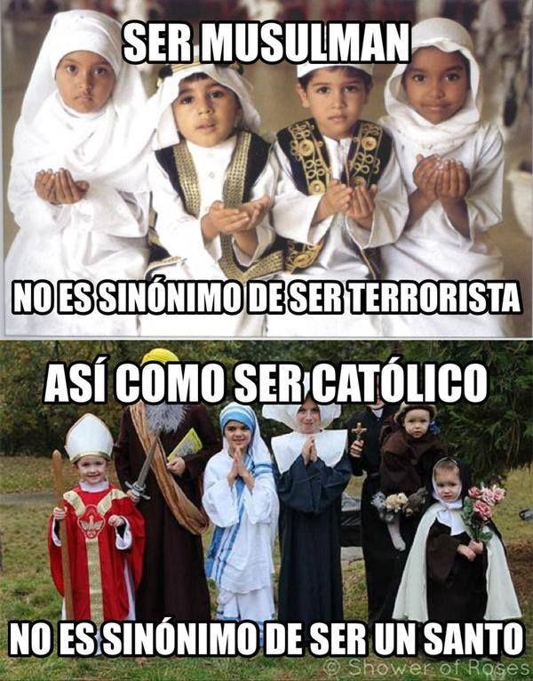 En ambos casos ignorancia y superstición, la mejor religión la que no existe.