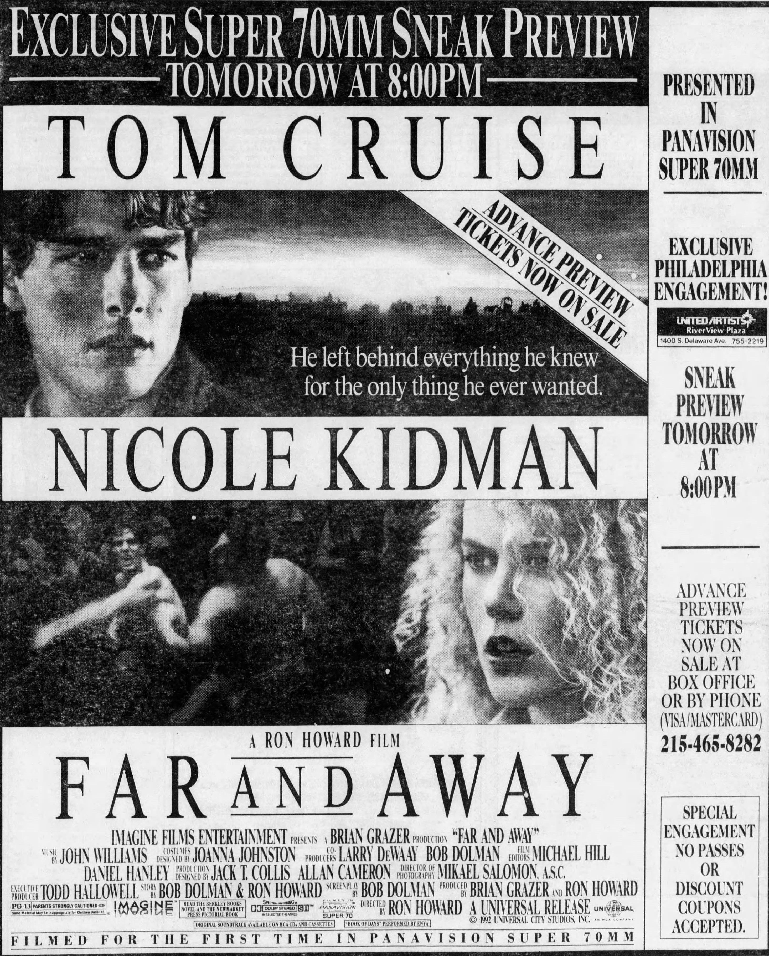 Far And Away 1992 Tom Cruise Movies Tom Cruise Nicole Kidman