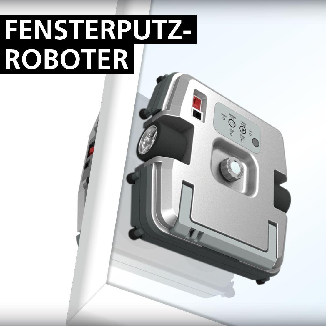 Fensterputzroboter Cleanbot W28 Nur Geeignet Fur 2 Fach Verglasung Fenster Putzen Haushaltsroboter Roboter
