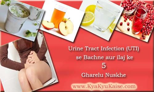 Urine Infection ka ilaj ke 5 Gharelu Upay: UTI Treatment in Hindi