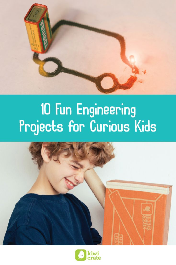 10 Fun Engineering Projects for Curious Kids I Kiwi Crate Inc.