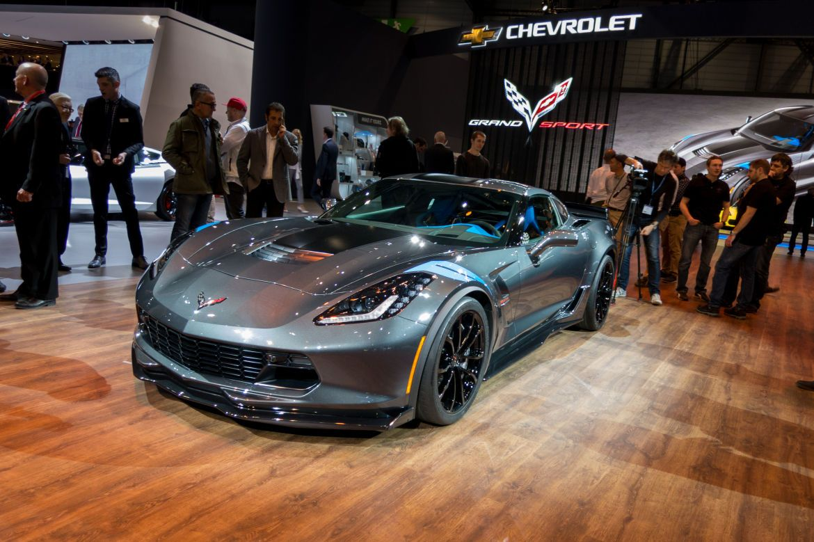 2017 Chevrolet Corvette Grand Sport Looks