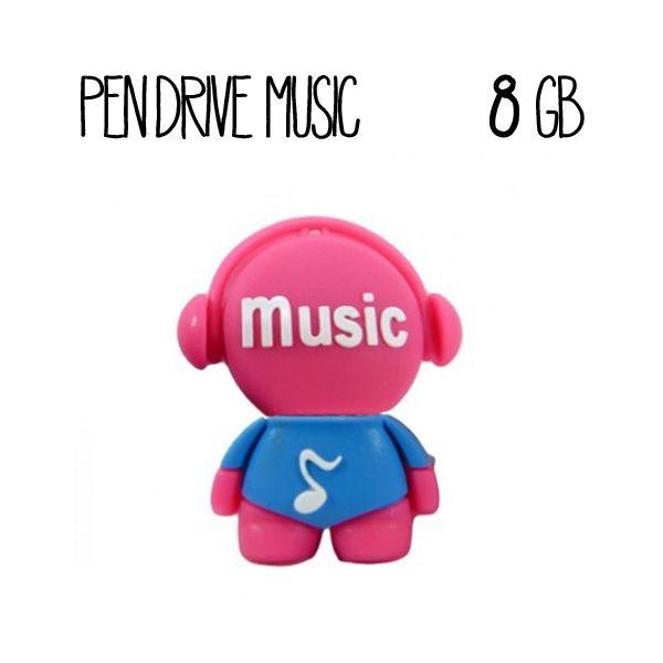 Pendrive Music 8 GB  Music USB 8 GB