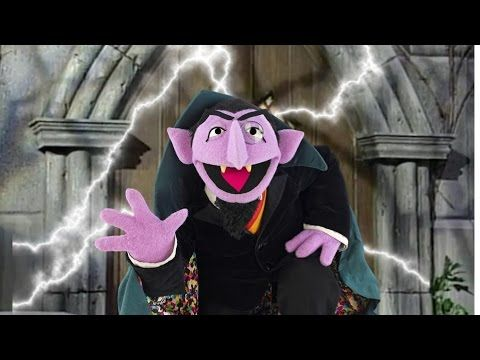 Sesame Street Count Von Count Compilation Youtube Pbs