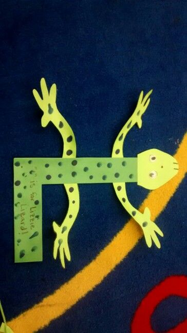 L is for Lizzy Lizard | Zoo phonics letter crafts ...