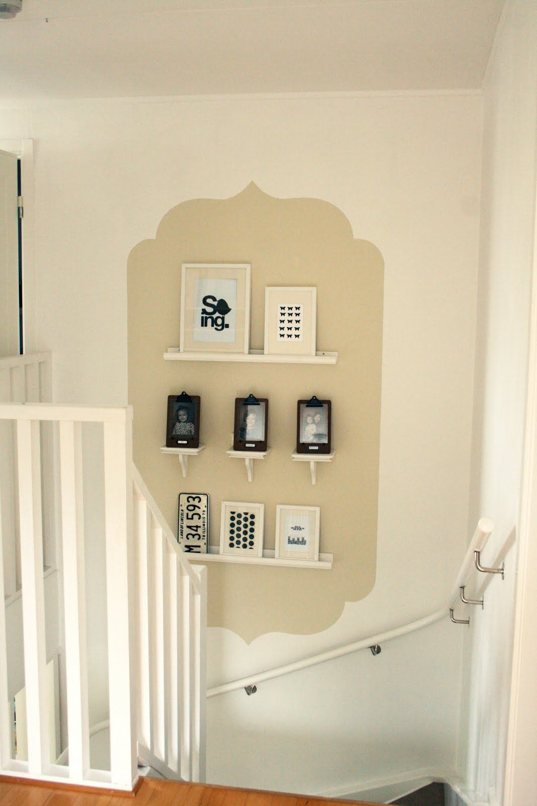 cute for a blank spot of wall | Shabby Chic | Pinterest | Paint ...