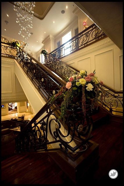 Flower at stair by lebua Hotels and Resorts, via Flickr