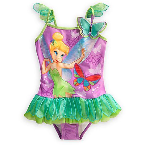 Tinker Bell Swimsuit for Girls | Swimwear | Disney Store